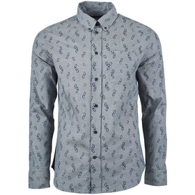 United By Blue Outpost Chemise à manches longues Homme, orion blue/clipped in